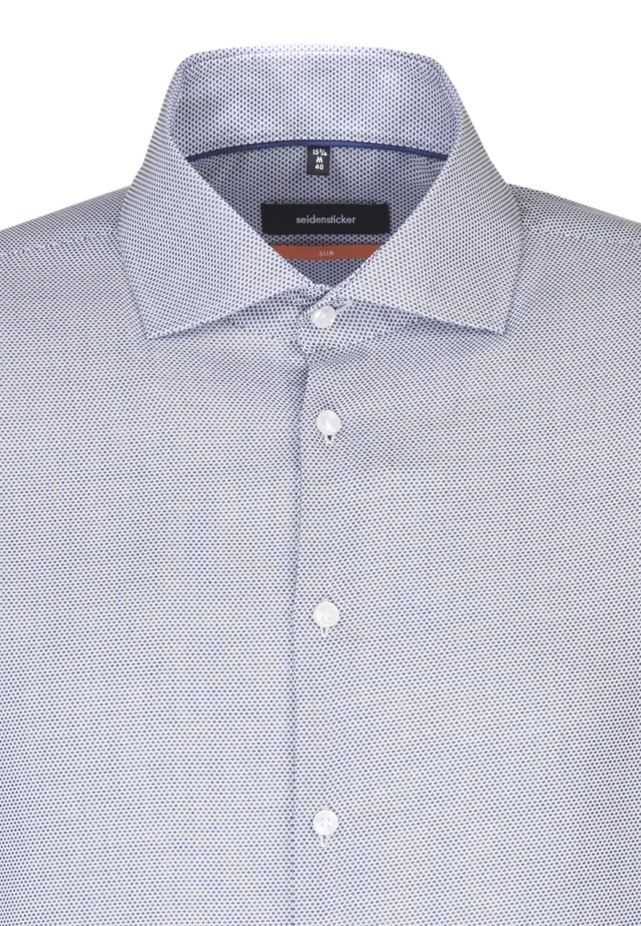 Hemd Seidensticker Hemd Seidensticker 'slim' Seidensticker BlauWeiß 'slim' 'slim' In BlauWeiß In Hemd ybf76Yg