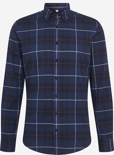 SEIDENSTICKER Overhemd in de kleur Donkerblauw / Wit, Productweergave