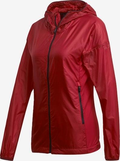 ADIDAS PERFORMANCE Sport-Jacke 'TERREX Agravic Alpha' in rot, Produktansicht