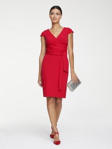 heine Sheath Dress in Red