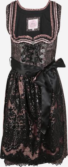 MARJO Dirndl '013 Matira' w kolorze mieszane kolory / różany / czarnym, Podgląd produktu
