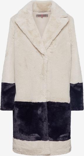 Palton de iarnă 'IriL' LIEBLINGSSTÜCK pe bej / negru: Privire frontală