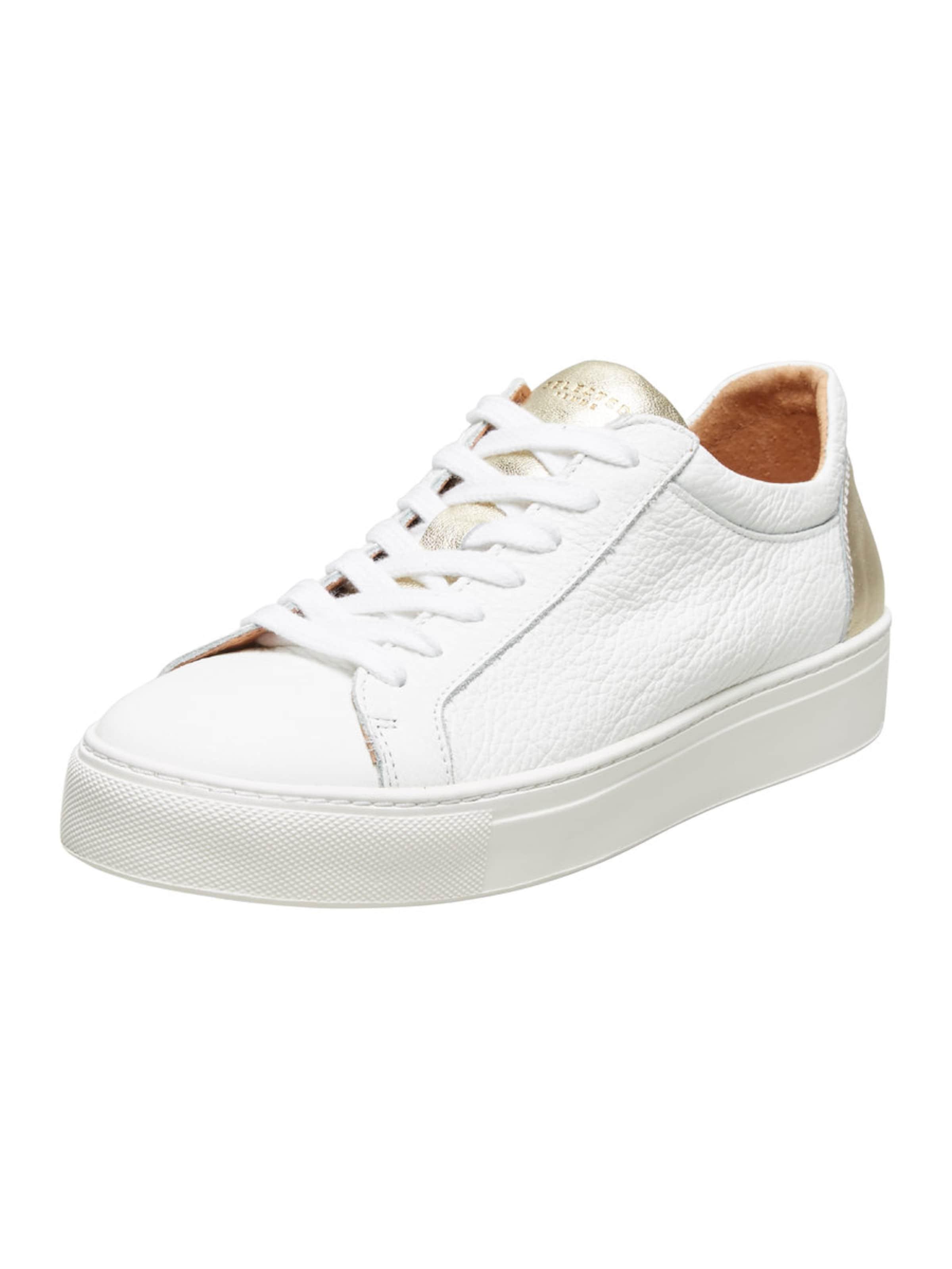 SELECTED FEMME Leder Sneaker Verschleißfeste billige Schuhe