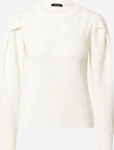 Trendyol Pullover in wollweiß, Produktansicht