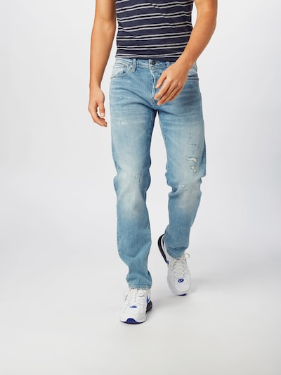 JACK & JONES Jeans 'MIKE' in blue denim, Modelansicht