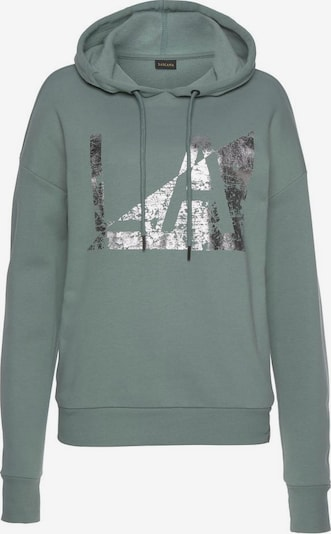 LASCANA Sweatshirt in pastellblau / altrosa, Produktansicht