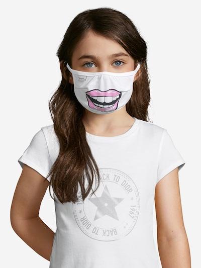 Sanetta Kidswear Stoffmasken '2er Pack' in weiß: Frontalansicht