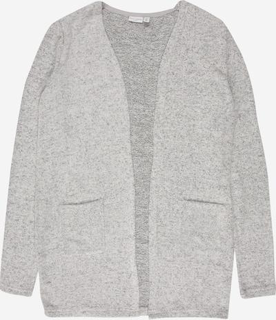 NAME IT Cardigan 'VICTI' en gris chiné, Vue avec produit