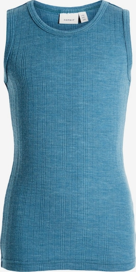 NAME IT Top in blau: Frontalansicht