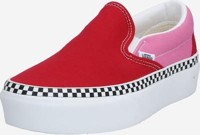 VANS Slip on boty 'UA Classic Slip-On Platform' - pink / červená, Produkt