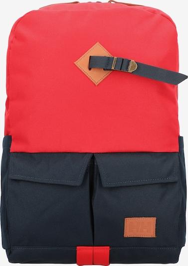 HELLY HANSEN Rucksack 'Bergen' in rot / schwarz, Produktansicht