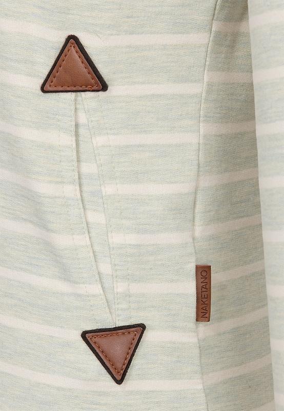 naketano Sweatshirt 'Blauer Sack & 9 mm'
