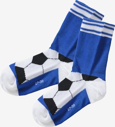 FALKE Socken in blau / schwarz / weiß, Produktansicht