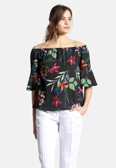 Uta Raasch Bluse in mischfarben / schwarz, Modelansicht