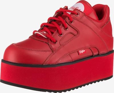 Buffalo London Sneaker 'Rising Towers' in rot, Produktansicht