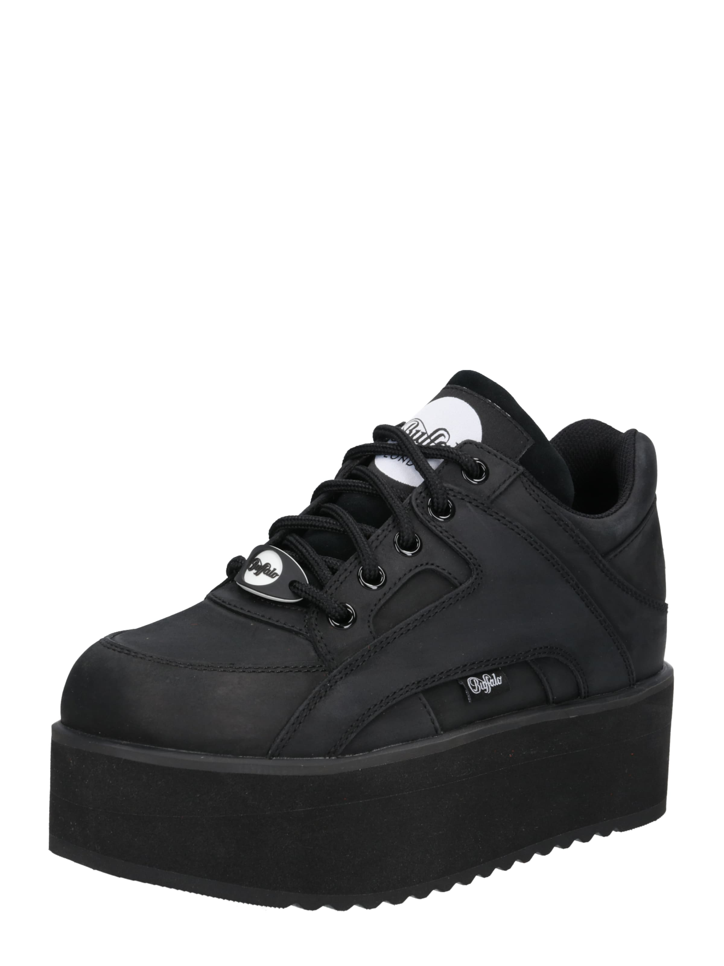 London Buffalo '1130 6' DamenSneaker In Schwarz QWdCBoerxE