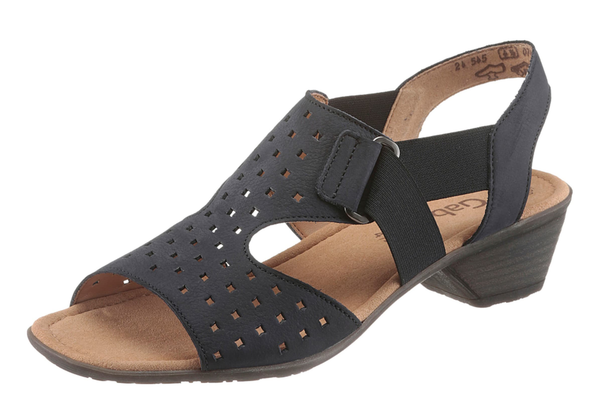 GABOR Riemchensandalette Verschleißfeste billige Schuhe Hohe Qualität