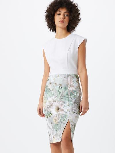Ted Baker Kleid 'Hanalee' in mischfarben / weiß, Modelansicht