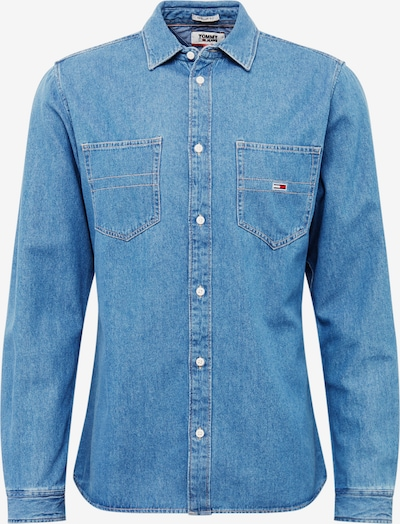 Tommy Jeans Krekls pieejami zils džinss, Preces skats