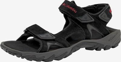 COLUMBIA Sandale 'Santiam' in rot / schwarz, Produktansicht