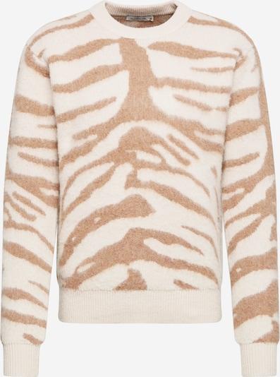Tiger of Sweden Trui 'Prowler' in de kleur Crème / Lichtbruin, Productweergave