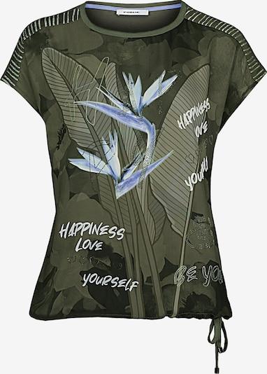 Public Shirt in himmelblau / khaki / weiß, Produktansicht