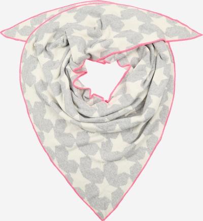 Zwillingsherz Masque en tissu en gris / rose, Vue avec produit