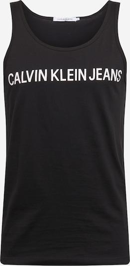Calvin Klein Jeans Tričko - černá: Pohled zepředu