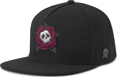 Cayler & Sons Cap 'Death Rose Cap' in rot / schwarz / weiß, Produktansicht