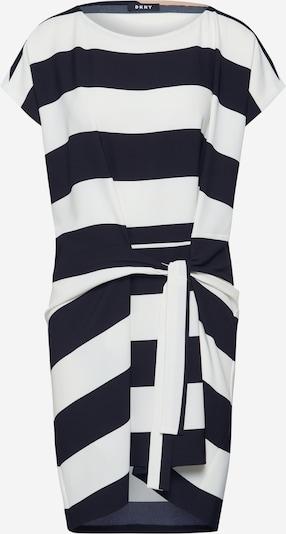 DKNY Robe en noir / blanc, Vue avec produit