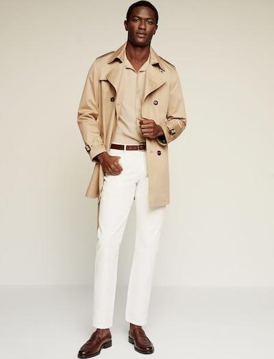 MANGO MAN Hemd rung in beige, Produktansicht