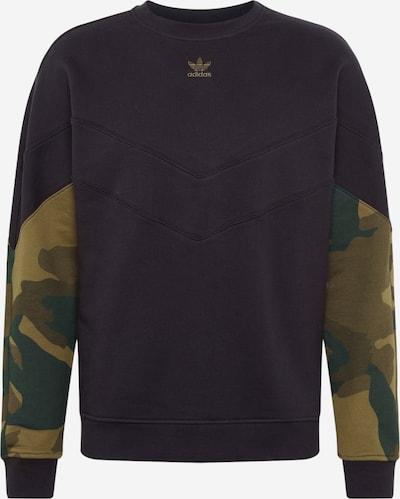 ADIDAS ORIGINALS Sweatshirt in oliv / smaragd / schilf, Produktansicht