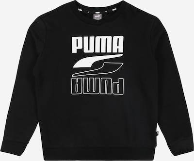 PUMA Sportovní mikina 'Rebel' - černá / bílá, Produkt