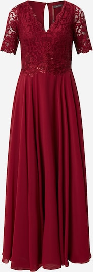 Vera Mont Avondjurk in de kleur Robijnrood: Vooraanzicht