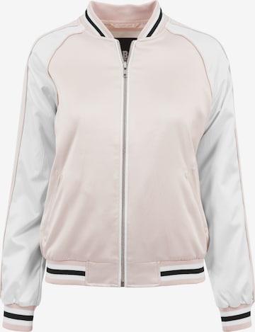 Urban Classics Jacke in Pink