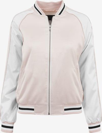 Urban Classics Tussenjas in de kleur Rosa / Zwart / Wit, Productweergave