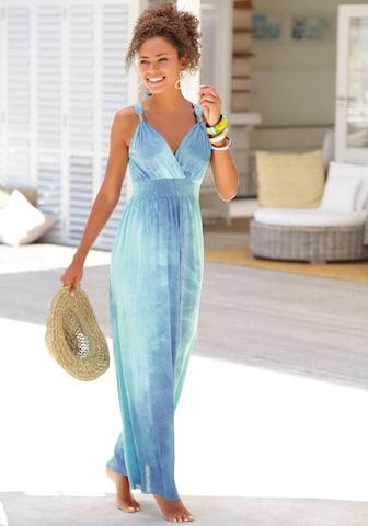 LASCANA Letné šaty - Modrá
