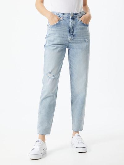 Tommy Jeans Teksapüksid helesinine, Modellivaade
