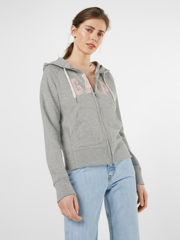 GAP Sweatshirtjacke 'STN FZ HD'