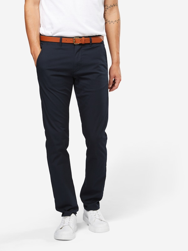 SELECTED HOMME Chino 'SHHYARD' in enzian, Modelansicht