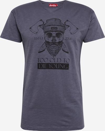 Derbe Shirt  'TOTDY' in dunkelgrau, Produktansicht