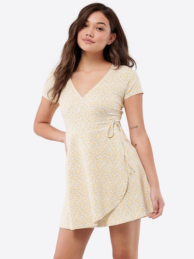 HOLLISTER Kleid in gelb | ABOUT YOU