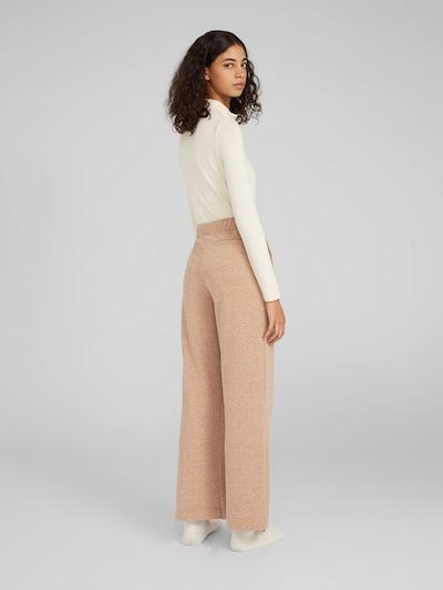 Kelnės 'Hali' iš EDITED , spalva - smėlio: Vaizdas iš galinės pusės