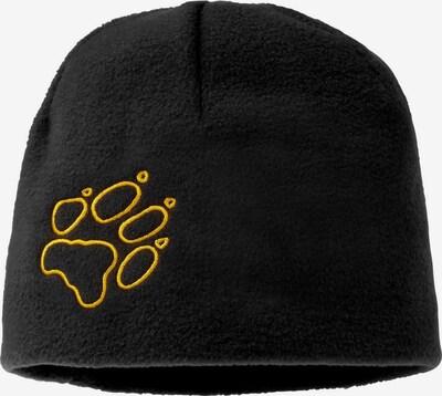 JACK WOLFSKIN Mütze in schwarz, Produktansicht