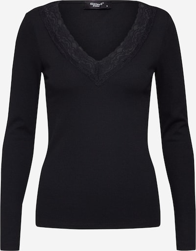 SISTERS POINT Bluse 'PETRIC-LS' in schwarz, Produktansicht