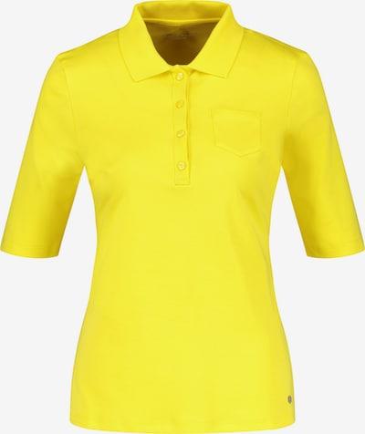GERRY WEBER Polo 3/4 Arm Poloshirt in gelb, Produktansicht
