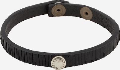 REPLAY Bracelet en noir / argent, Vue avec produit