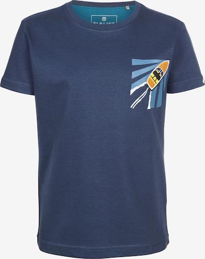 ELKLINE T-Shirt SPEEDBOAT in blau, Produktansicht