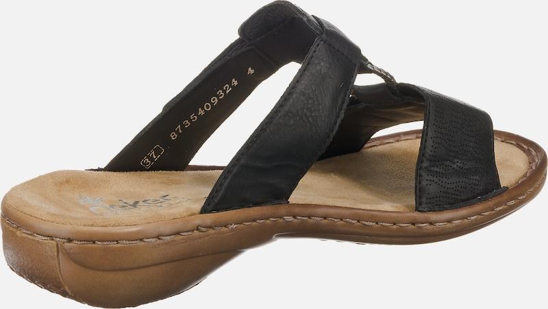 RIEKER Eagle Komfort-Pantoletten