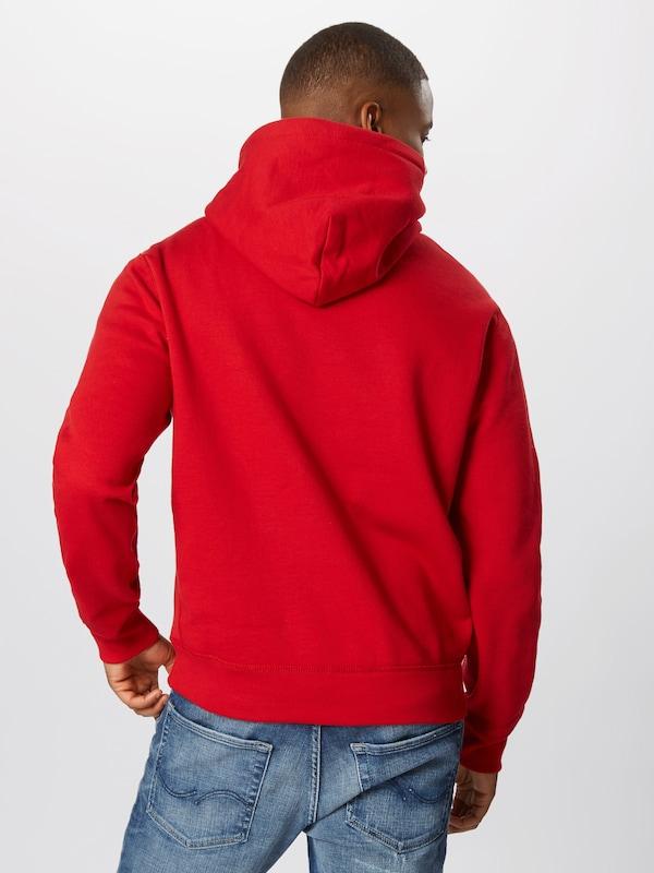POLO RALPH LAUREN Hoodie 'ATHLETIC' in rot  Markenkleidung Markenkleidung Markenkleidung für Männer und Frauen 59f5f5